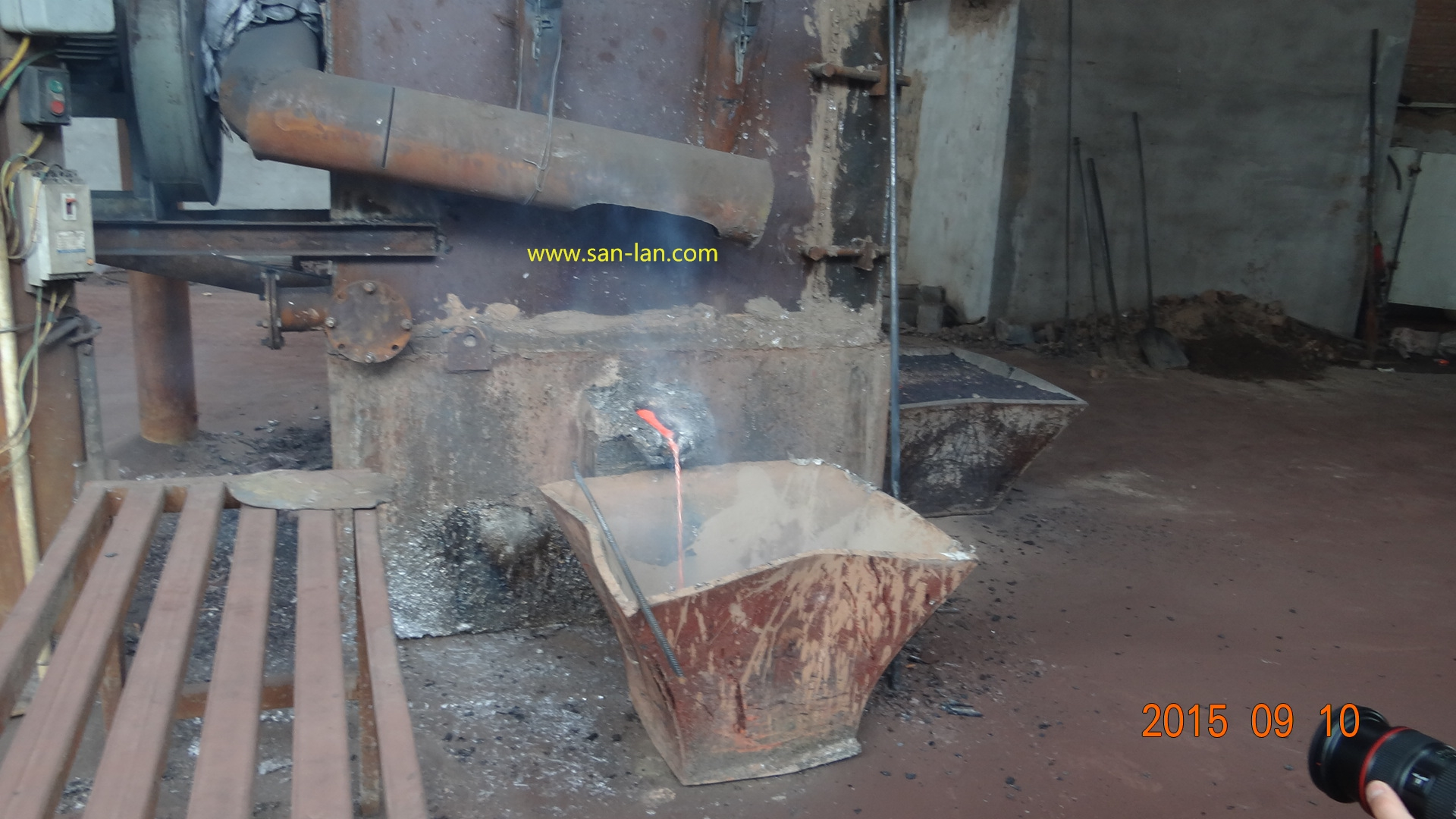 Blast ( Cupola) Furnace for lead battery reduction melting