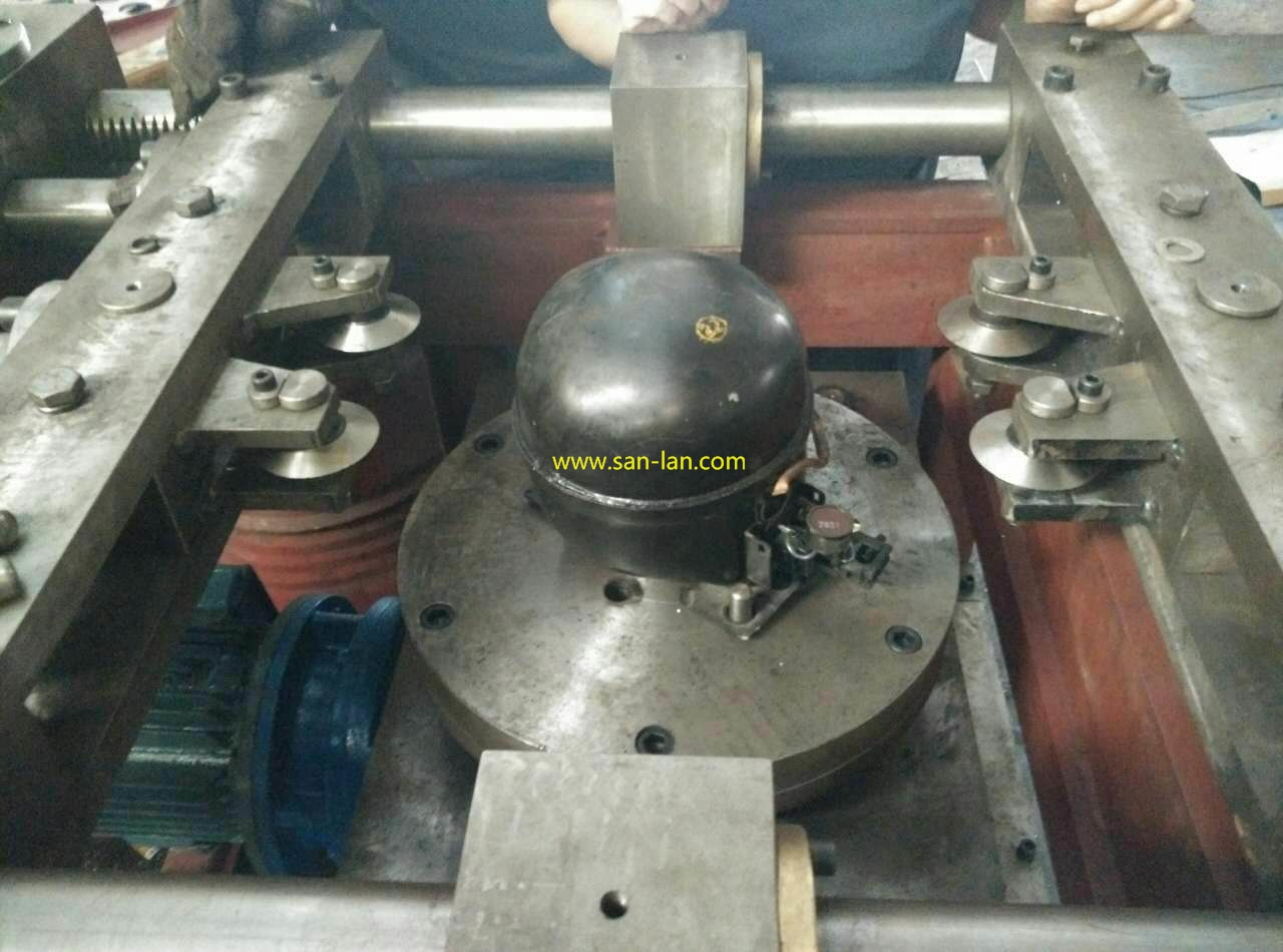 Compressor Cutting mahine